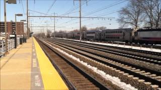 Midday Northeast Corridor Action at Linden