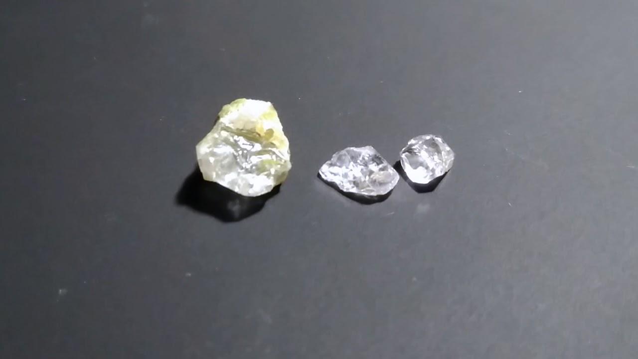 Дети нашли алмазы