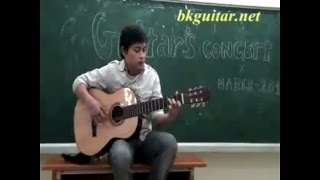 Đôi chân trần - guitar