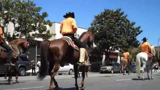 Desfile De Caballos en Downtown Salinas, CA 2010