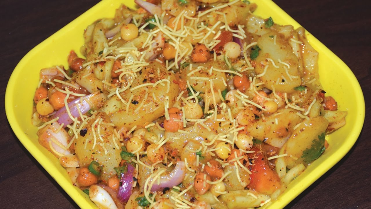 Aloo Kabli - How To Make Bengali Special Street Food Aloo Kabli At Home - YouTube