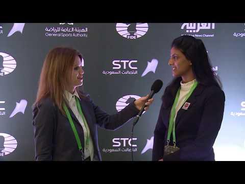 Interview with Harika Dronavalli