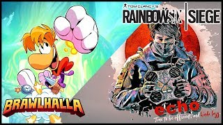 Primero Rainbow Six y Despues Brawlhalla - Horario R6 5:00 a 6:30 y Brawlhalla 6:30 a 8:30 PS4 Esp.