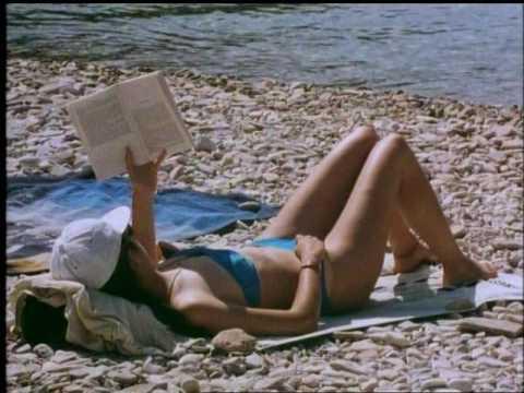 Ön och den nakne simmaren