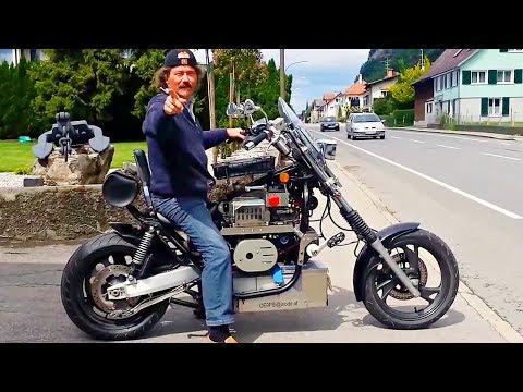 😵 СамоДельные Электрические Мотоциклы 🔋!