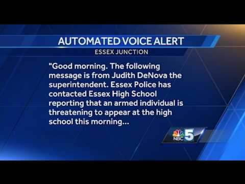 Automated phone call describes Essex Junction schools lockdown