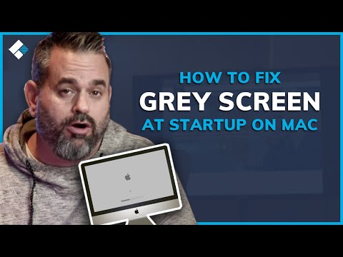 How To Fix Grey Screen At Startup On Mac Youtube