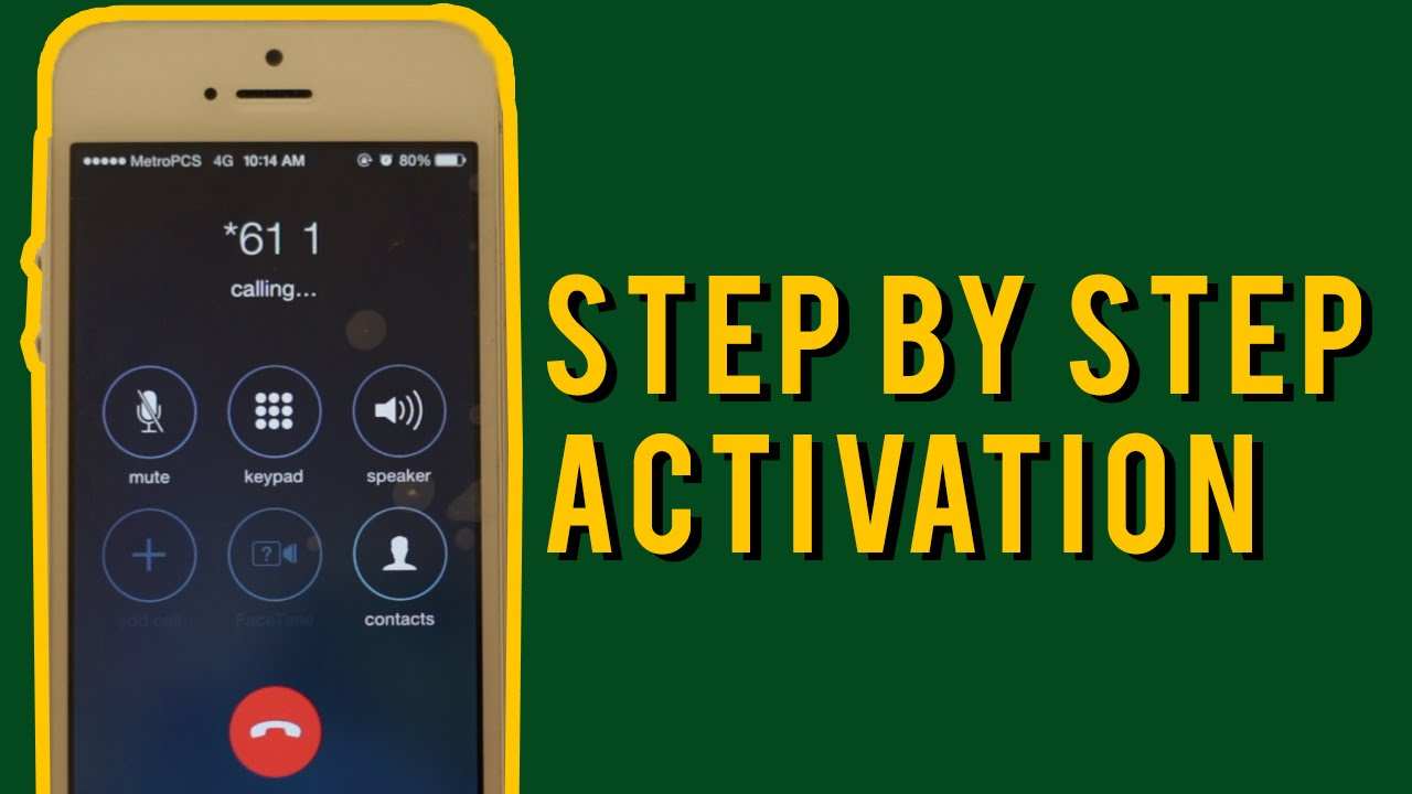 How to Activate an iPhone on metroPCS (Full Step by Step Tutorial)!