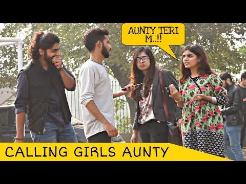 Calling Cute Girls AUNTY Prank | Prank in Pakistan
