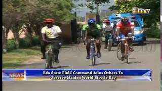FRSC observe maiden World Bicycle Day