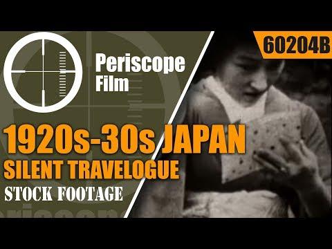 1920s-30s JAPAN SILENT TRAVELOGUE MOVIE  GEISHA GIRLS 60204b