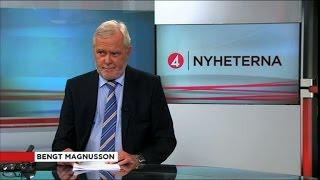 Bloopers: Bengt Magnusson gör bort sig i sändning