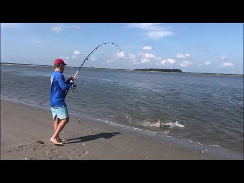 Shark Fishing On Folly Beach