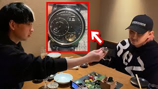 ぱっと見3260万円と分からない腕時計を2000円ガチャのB賞で出てきたけどいる?と嘘ついて後輩に聞いてみた結果ww