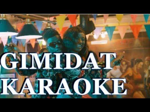Download RAYVANNY FT MAYORKUN - GIMIDAT [OFFICIAL MUSIC VIDEO] KARAOKE