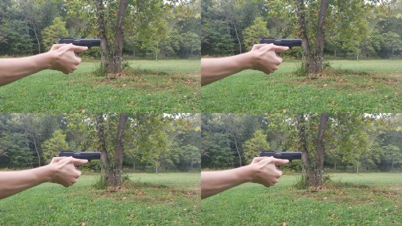3D Printed Browning Hi Power Frame Supercut