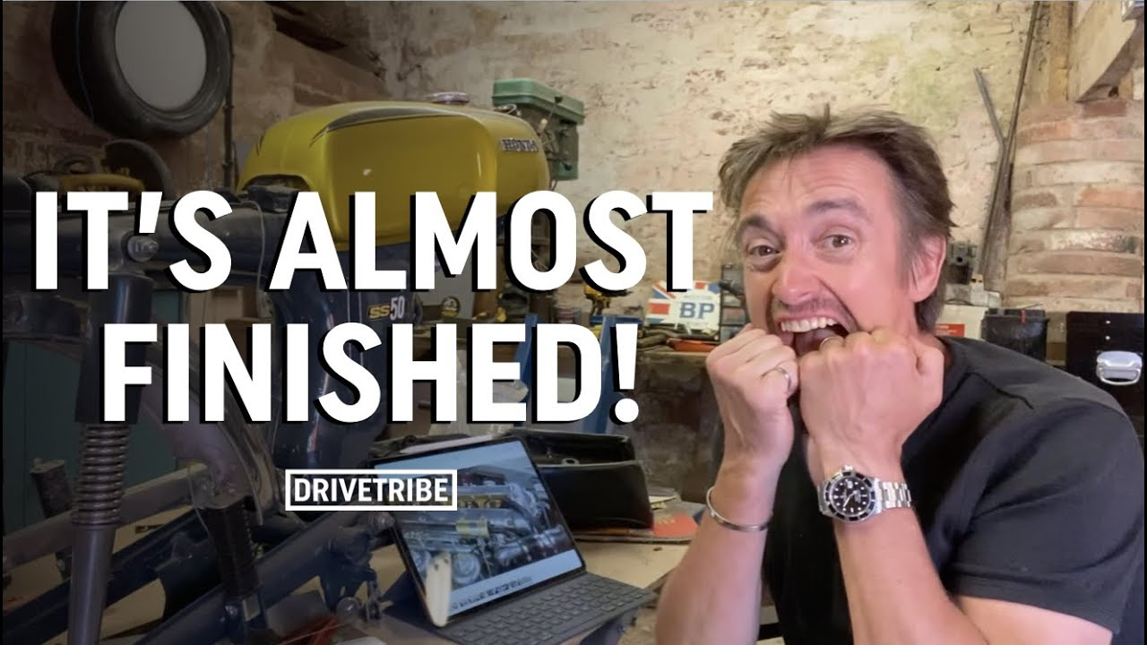 Richard Hammond's project car is nearly finished