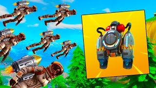 HOW TO UNLOCK THE JETPACK In Fortnite: Battle Royale