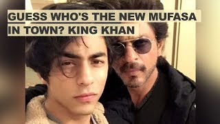 Guess who's the new Mufasa in town? King Khan