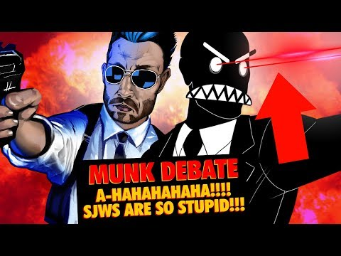 COMMENTARY: MUNK DEBATE / SJWs ARE SO STUPID LOL w/ Friended and Sitch