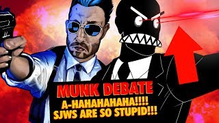PSA SITCHFRIENDED MUNK DEBATE COMMENTARY SJWs ARE SO STUPID LOL EP01