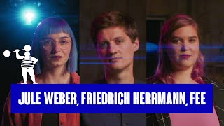 OkCupid Poetry-Slam – Die Sprache der Liebe mit Jule Weber, Friedrich Herrmann und Fee Brembeck
