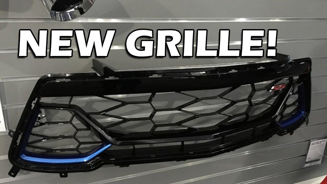 Gm Anniversary Grille 6th Gen Camaro Ss Youtube