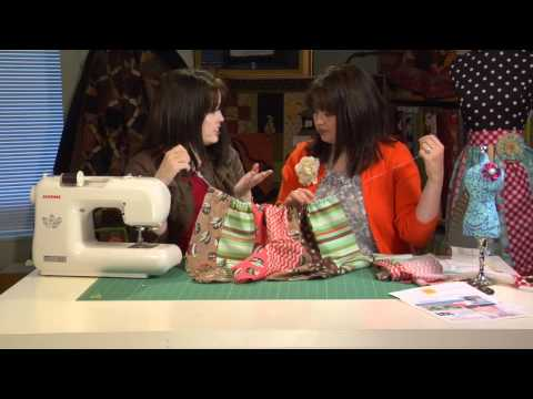 How to Make an Apron - How to Sew an Easy Apron - The DIY