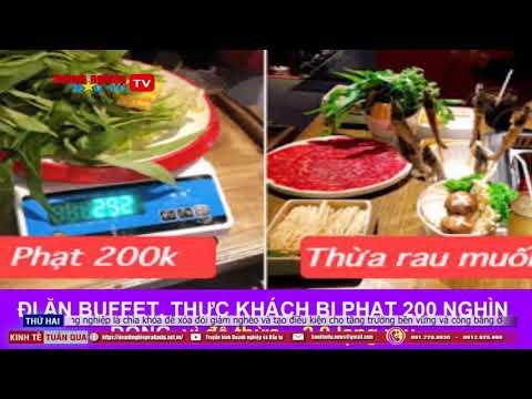 Khách hàng bức xúc bị phạt 200k khi ăn lẩu Buffet ở Đà Nẵng