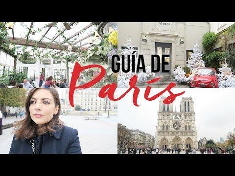 MIS LUGARES FAVORITOS DE PARÍS | GUÍA DE VIAJE