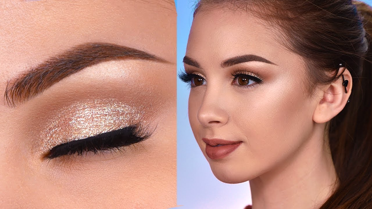DRUGSTORE Prom Makeup Tutorial  Natural & Easy Prom Makeup