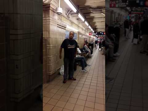Amazing subway performer Mike Yung