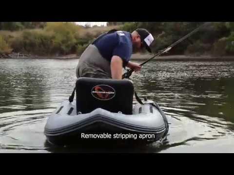 Wat-épuisette//flottante épuisette Rubber Net Belly BOAT KAYAK