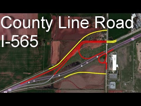 I-565 & County Line Road Interchange Construction Update: Mid-July 2014