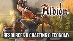Albion Online: Gathering Resources, Crafting Tools & Player Economy! (Gameplay & Commentary)