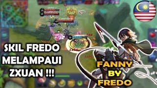 Skill Fredo Melampaui Zxuan !!! Hanya Fanny Fredo Yang Bisa Tornado Kayak ini !!! - Mobile Legends