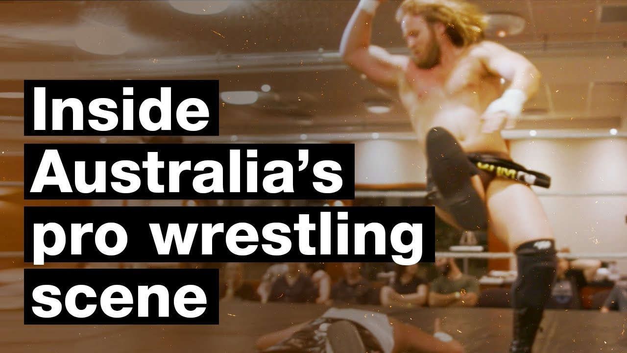Mixed wrestling australia