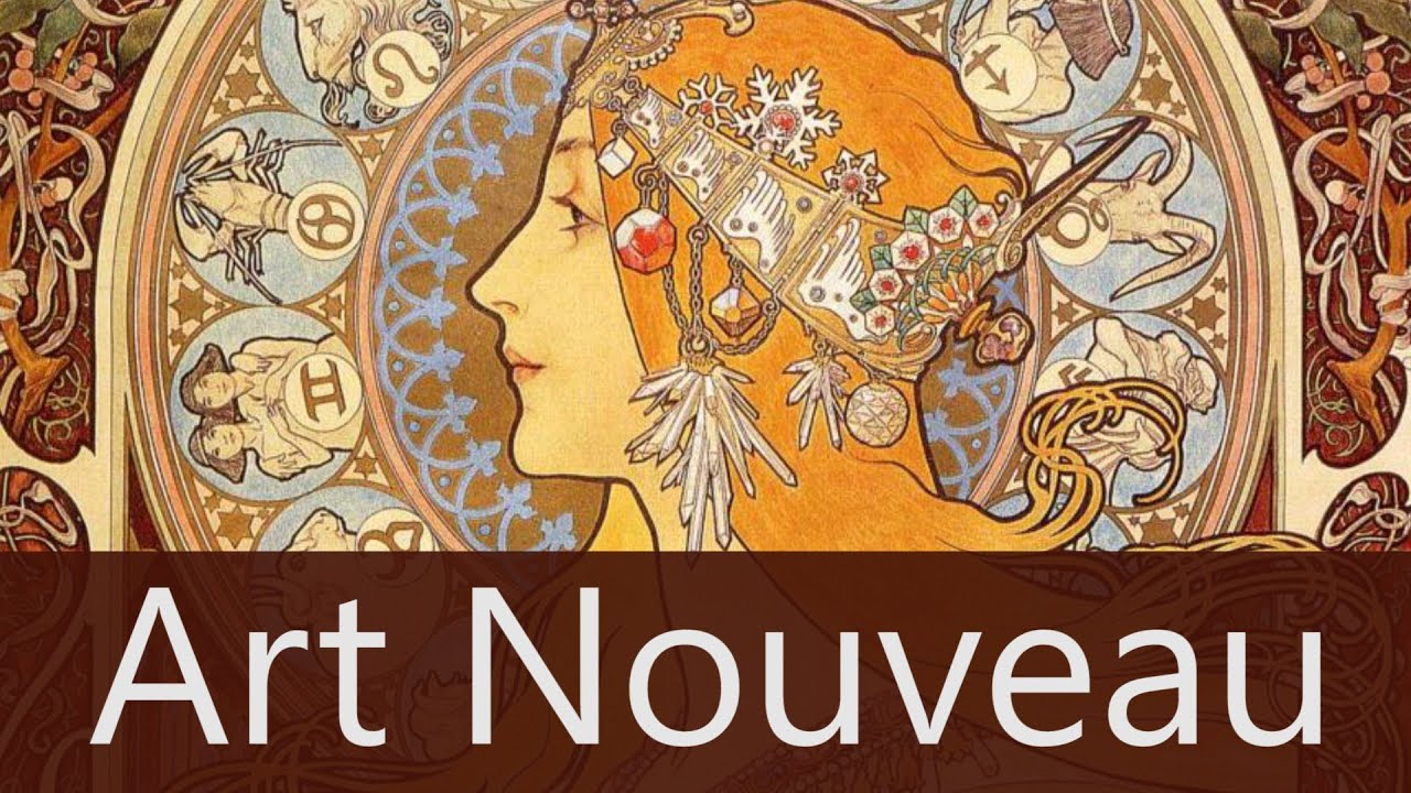 Célèbre Art Nouveau - Overview - Goodbye-Art Academy - YouTube JK32