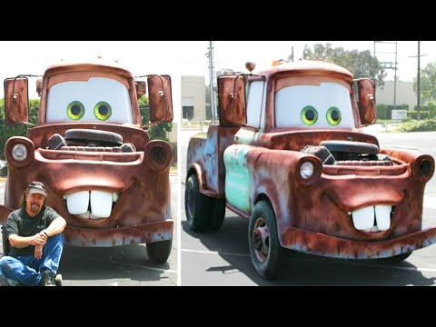 Movie Cars Made in Real Life