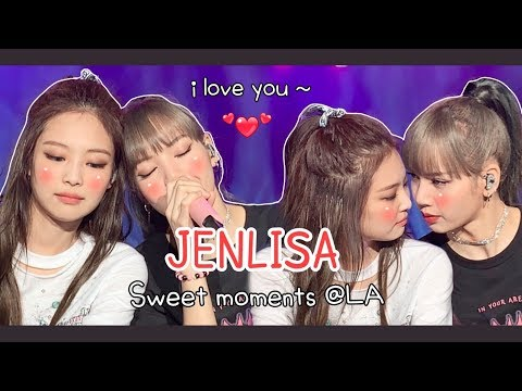 JENLISA ❤ Sweet Moment @LA