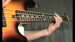 Wild Cherry - PlayThat Funky Music - Bass Cover
