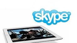 iPad: Skype