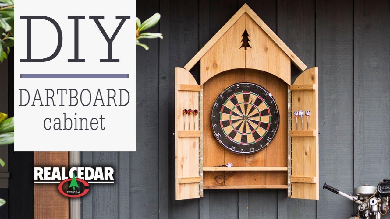 Free Dart Board Cabinet Project Plan