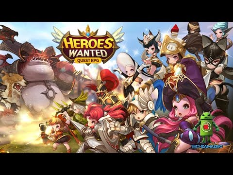Quest RPG Heroes Wanted (iOS/Android) Gameplay HD
