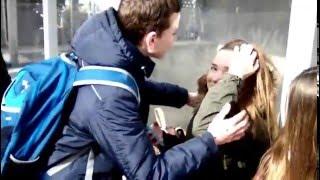 Поцеловал и увлёкся)))).
