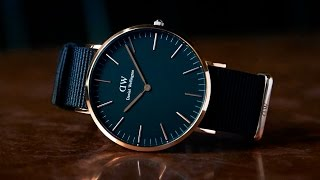 Daniel Wellington Classic Black Collection!