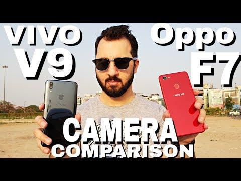 Oppo F7 vs Vivo V9 Camera Comparison   Oppo F7 Camera Review   Vivo V9 Camera Review