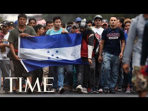 President Trump Threatens Mexico If Caravan Of 3,000 Honduran Migrants Reaches U.S. Border | TIME