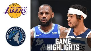 Lakers vs Timberwolves HIGHLIGHTS Full Game | NBA February 16