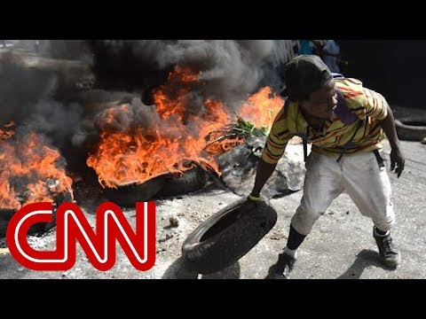 Americans trapped in Haiti hotel amid rioting
